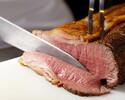 【1/1~1/3限定*新春ランチブッフェ*】シェフが目の前で切り分けるローストビーフや選べるメイン料理など25種以上