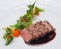 【ル・クール】メインは国産牛フィレ肉にグレードアップ!鮮魚料理、デザートなどフルコースディナー全5品 ~web予約特典!乾杯スパークリング付~