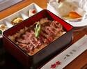 【1日限定15食!!】平日ランチ限定 ステーキ重セット