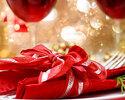 【クリスマスディナー2019】乾杯スパークリング+白赤ワインの3杯付き 真鯛やオマール海老・牛ロースグリルなど全5皿