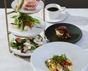 【ERUTAN LUNCH】前菜5種のアンティパストスタンド + パスタ + デザート のコース