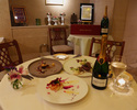 【Xmas2019 12/23(月)限定】グラスシャンパン付!神楽坂の上質ホテルレストランで、クリスマスディナー!前菜や、お魚&お肉のWメインを堪能!