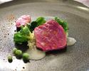 《メイン尾崎牛サーロイン ディナーコース》7品のコース