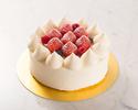 角型イチゴのショートケーキ・・・15cm(4~6名様)