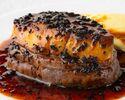 【特別ランチメニュー】特選牛フィレ肉120gとフォアグラのロッシーニ風、デザートなど全4品 ~web予約特典!乾杯スパークリング付~
