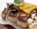 【web予約特典!乾杯スパークリング付】国産牛フィレ肉 120g、フォアグラなど豪華食材を満喫する全7品 ~「心」スペシャルランチ~