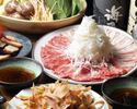 ◇鹿児島県産六白黒豚と湯豆腐のつゆしゃぶコース◇