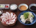 YONEZAWA pork120gShabushabu set