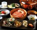 【Shikisai Dinner】Crab Shabu-Shabu