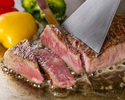 <数量限定>国産牛サーロインステーキ含む!おまかせ10品飲み放題付き限定コース