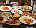 Grigio specialties W main course which can enjoy pleasing appetizers and meat fish 2.5 hours all you can drink