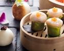 "Odaiba Relaxing Enjoyment Plan Authentic Dim Sum Order Buffet Lunch Enjoyed at Chinese Cuisine ""Tanggu"""