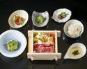 【Lunch - Official Online Special】Steamed Japanese Beef Shabu-shabu Lunch Set