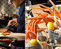 【Weekday /For 4】 Dinner Buffet with Folk Crab Bucket 1kg