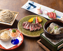 Self grill dish  and teppanyaki  [fillet or sirloin] course