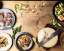 【NOWADAYSプラン】飲み放題付き¥5500※前菜のみ銘々盛り、大皿シェアプラン
