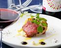 葡萄牛フィレ肉を使ったプレミアムコース