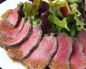 【プレミアム飲み放題付】前菜からメインまで、ローストビーフが入った人気No. 1コース