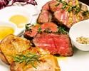 大人気【肉バルコース2hプレミアム飲み放題付】前菜から肉尽くし、メインは肉3種盛り合わせ