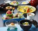 【加賀懐石「白珠」全8品】四季折々の食材を丁寧に仕上げました+1ドリンク付!