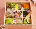 SHARI特製【春のお花見ロール寿司】9貫
