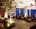 【Rooftop Bar Terrace】Free Flow Ohanami Plan<Rooftop Bar Terrace Table>