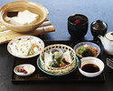 Yudofu gozen (tofu in hot pot set) -the speciality of Nanzenji- UME set