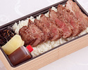 熊野牛赤身ステーキ丼/来店