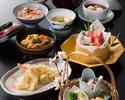 【苺が入ったスパークリングワイン付き!】名物の治部煮や旬の食材と使用した加賀料理を 全7品【季節の膳】