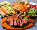 【料理のみ】【厳選肉盛り】ハワイアンBBQセット