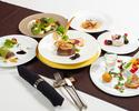 【6月特別コース】 国産牛フィレ肉とフォアグラのロッシーニコース(3時間飲み放題付)
