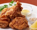 【テイクアウト】鶏の唐揚げ ごま塩とレモン添え(5ヶ)