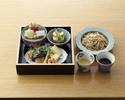 蕎麦御膳(テーブル席)