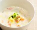 【テイクアウト】野菜のチャウダースープ