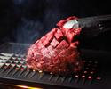 【オープン記念】★日木限定★【3時間飲み放題付】牛ハラミ塊肉の焼肉海鮮コース