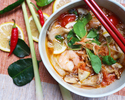 TOM YAM KUNG  - Hot and Sour Shrimp Soup