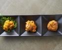 【テイクアウト】本日の厳選生ウニ3種食べ比べ