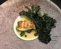 【乾杯スパークリングワイン付】メインを魚料理・肉料理から選べる4皿コース