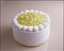 【デリバリー】4号(12cm)スーパーメロンショートケーキ ¥6,480(税込)