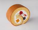 【デリバリー】新フルーツロールケーキ1ピース ¥800(税抜)