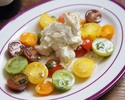 【テイクアウト】いろいろトマトモッツァレラチーズのサラダ