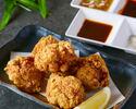 【テイクアウト】鶏の唐揚げ 5個入り (ネギ塩味)