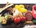 野菜の炭火焼