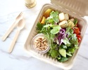 【TAKEAWAY】chopped salad, roast kohlrabi and red cabbage, peanut and lime dressing