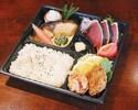 【テイクアウト】老舗の味をご自宅で! ランチタイム限定!~鰹のたたき弁当~