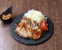 【デリバリー】黒豚トンテキ