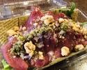 【デリバリー】牛肉の生ハムと有機ハーブリーフ