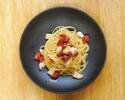 【TAKEOUT】単品)帆立とドライトマトのアーリオオーリオ「スパゲティ」