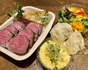 【テイクアウト】予約限定!シャロレー牛のステーキランチセット