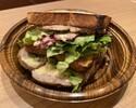 大山鶏の厚切り『香』ホットサンドイッチ 」 ※11:30時以降の受取り